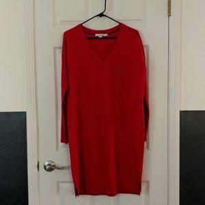 Boden wool/cotton sweater dress
